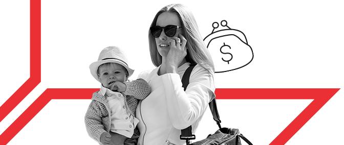 Mamá puede: cómo ganar dinero estando de baja por maternidad