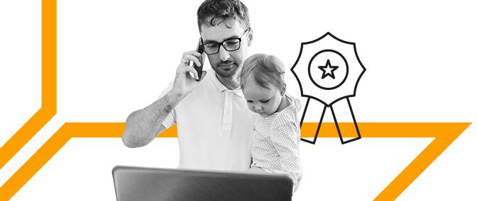 Familia, trabajo, hobby: cómo criar hijos y tener tiempo para todo
