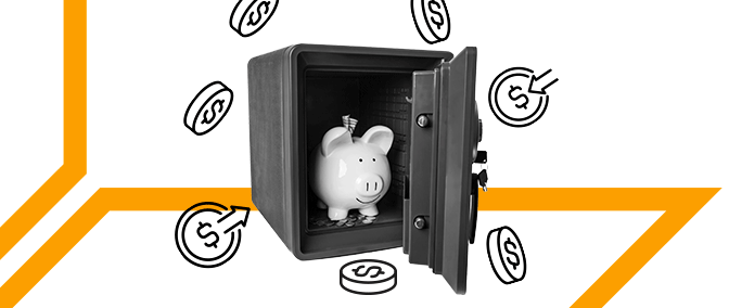 Reducing Financial Risks. Efficient Security Techniques