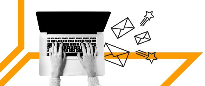 ईमेल द्वारा लीड पैदा करें। कोल्ड सेल्स की क्षमता
